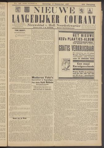 Nieuwe Langedijker Courant 1927-12-10