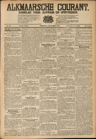 Alkmaarsche Courant 1930-04-22