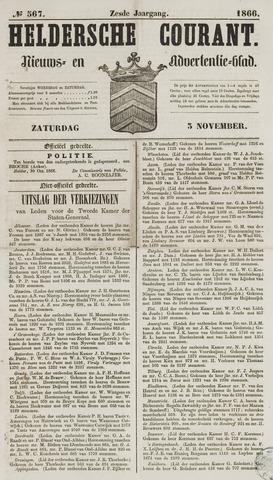 Heldersche Courant 1866-11-03