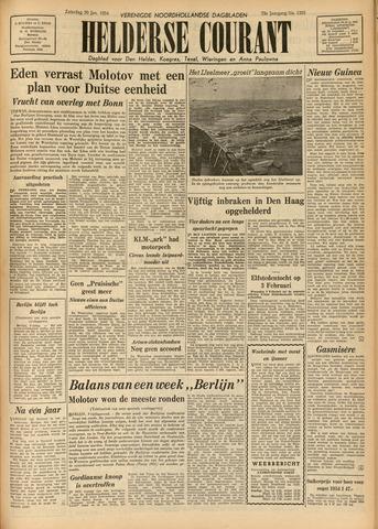 Heldersche Courant 1954-01-30