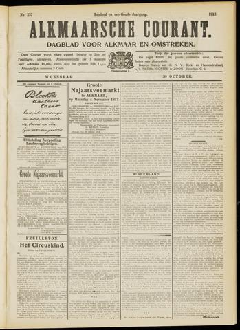 Alkmaarsche Courant 1912-10-30