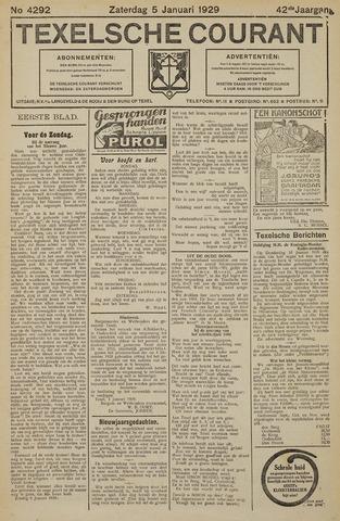 Texelsche Courant 1929