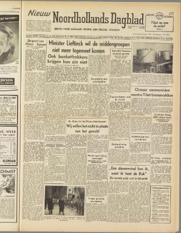 Nieuw Noordhollandsch Dagblad : voor Alkmaar en omgeving 1950-10-25