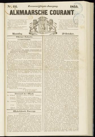 Alkmaarsche Courant 1855-10-29