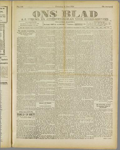 Ons Blad : katholiek nieuwsblad voor N-H 1920-06-26