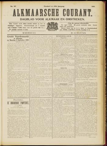 Alkmaarsche Courant 1909-08-25