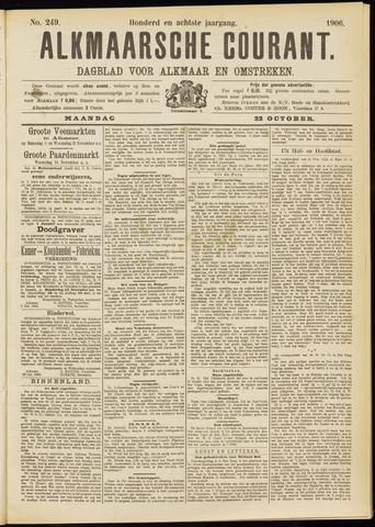 Alkmaarsche Courant 1906-10-22