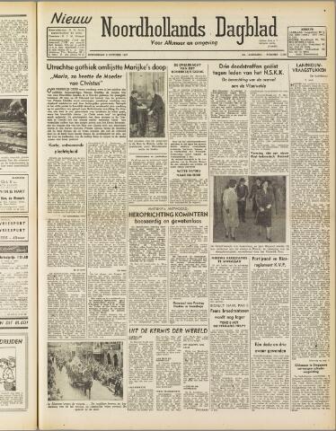Nieuw Noordhollandsch Dagblad : voor Alkmaar en omgeving 1947-10-09