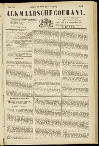 Alkmaarsche Courant 1887-03-25