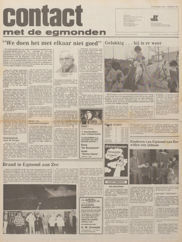 Contact met de Egmonden 1980-12-03