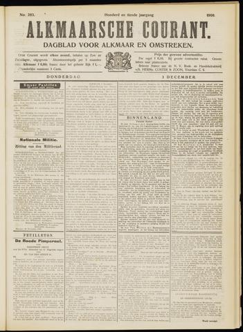 Alkmaarsche Courant 1908-12-03