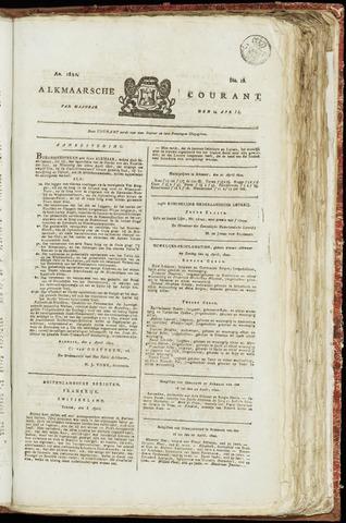Alkmaarsche Courant 1820-04-24