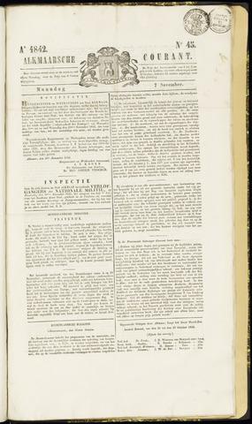 Alkmaarsche Courant 1842-11-07