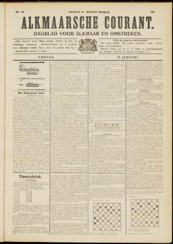 Alkmaarsche Courant 1911-01-27