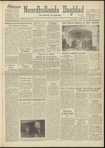 Nieuw Noordhollandsch Dagblad : voor Alkmaar en omgeving 1948-01-12