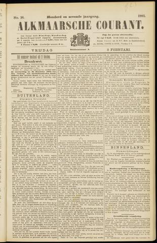 Alkmaarsche Courant 1905-02-03