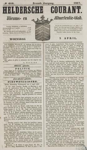Heldersche Courant 1867-04-03