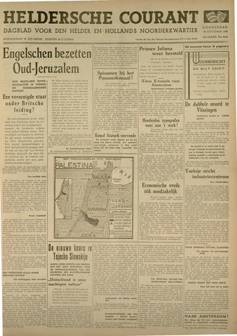 Heldersche Courant 1938-10-20