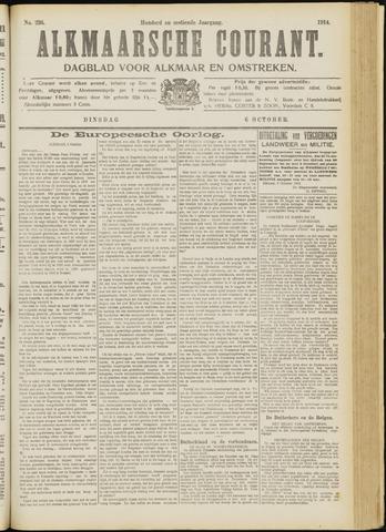 Alkmaarsche Courant 1914-10-06