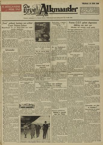 De Vrije Alkmaarder 1948-06-18