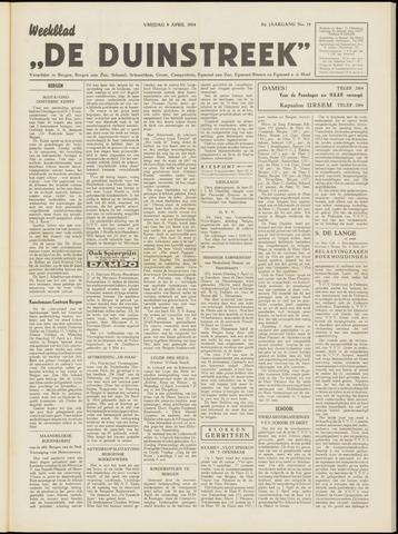 De Duinstreek 1954-04-09