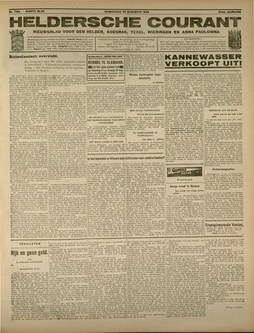 Heldersche Courant 1932-08-25