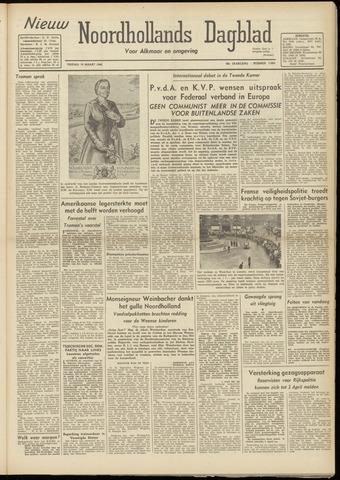 Nieuw Noordhollandsch Dagblad : voor Alkmaar en omgeving 1948-03-19