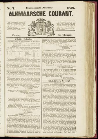 Alkmaarsche Courant 1859-02-13