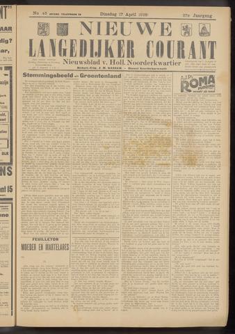 Nieuwe Langedijker Courant 1928-04-17