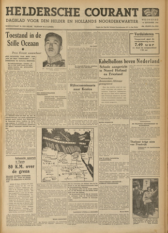 Heldersche Courant 1940-09-18