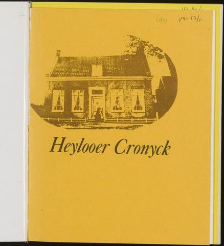 Heylooer Cronyck 1991-12-01