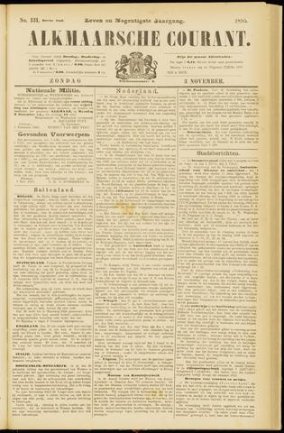 Alkmaarsche Courant 1895-11-03