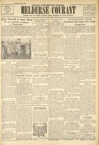 Heldersche Courant 1949-07-18