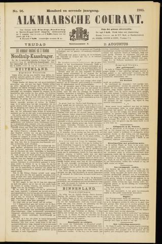 Alkmaarsche Courant 1905-08-11
