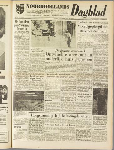 Noordhollands Dagblad : dagblad voor Alkmaar en omgeving 1961-11-09