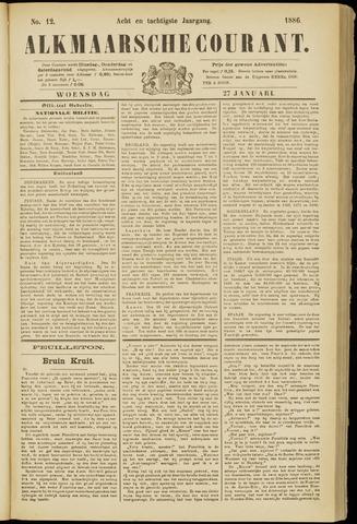 Alkmaarsche Courant 1886-01-27
