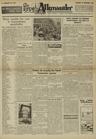 De Vrije Alkmaarder 1948-09-20