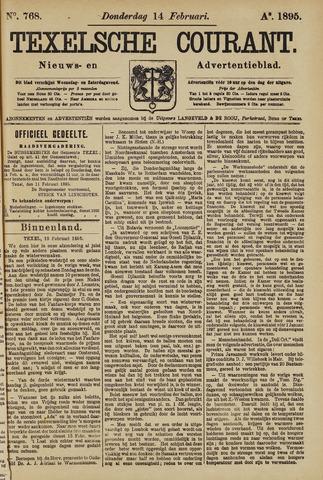 Texelsche Courant 1895-02-14