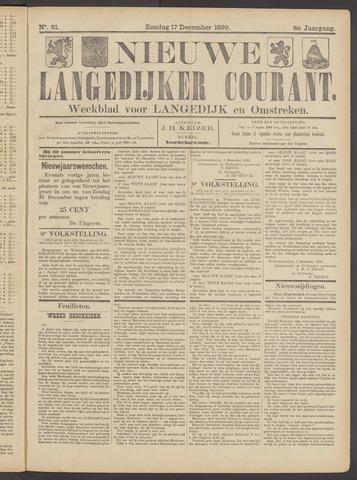 Nieuwe Langedijker Courant 1899-12-17