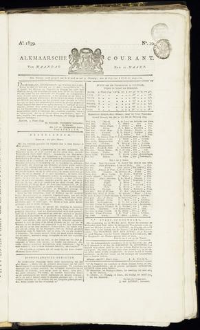 Alkmaarsche Courant 1839-03-11