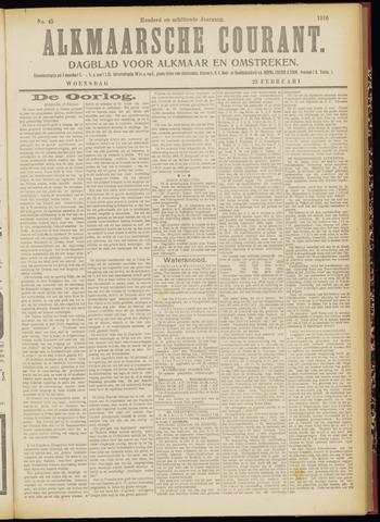 Alkmaarsche Courant 1916-02-23