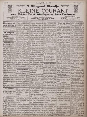 Vliegend blaadje : nieuws- en advertentiebode voor Den Helder 1902-12-10