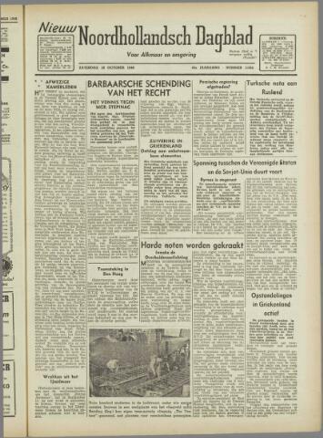 Nieuw Noordhollandsch Dagblad : voor Alkmaar en omgeving 1946-10-19