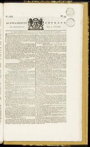 Alkmaarsche Courant 1838-10-22