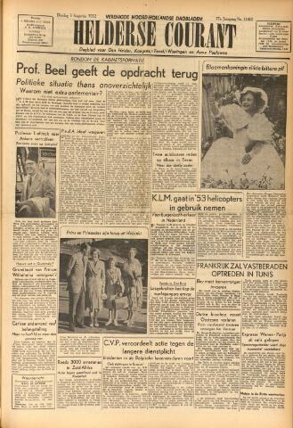 Heldersche Courant 1952-08-05