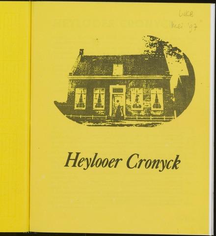 Heylooer Cronyck 1997-05-01