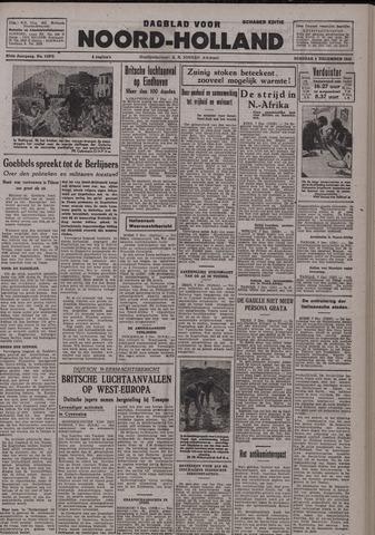 Dagblad Noord-Holland, Schager editie 1942-12-08