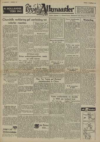 De Vrije Alkmaarder 1950-02-17