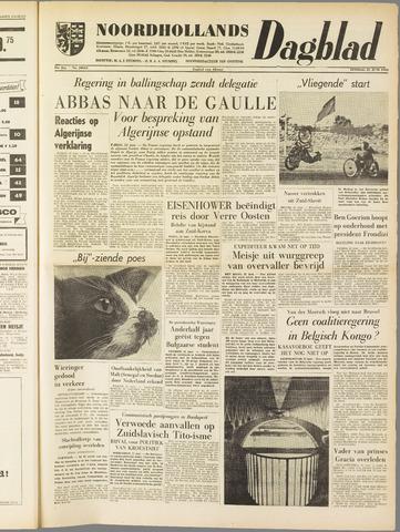 Noordhollands Dagblad : dagblad voor Alkmaar en omgeving 1960-06-21