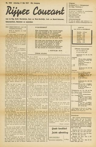 Rijper Courant 1947-05-17